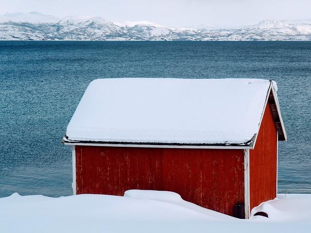Sea, Sky, Outdoor, No Person, Body Of Water, Fjord