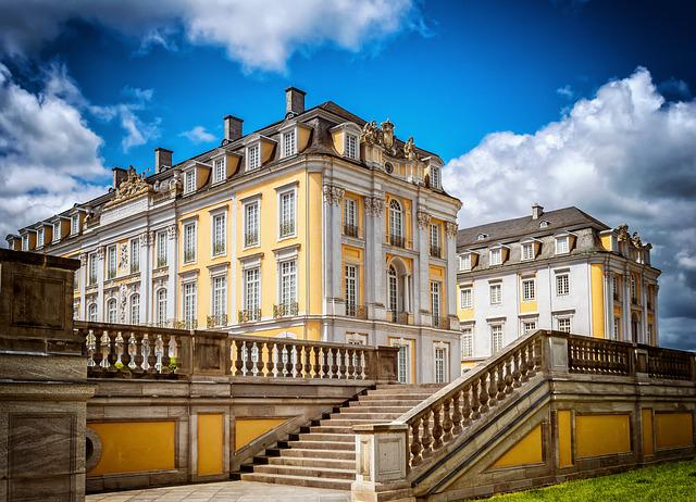 Castle, Noble, Architecture, Wealth, Baroque