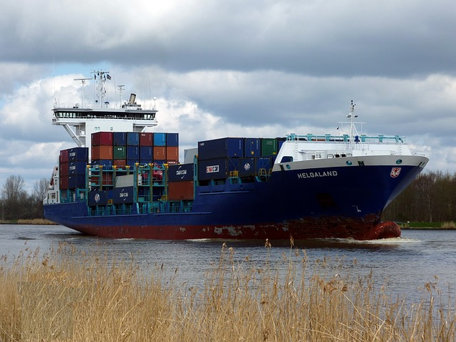 Ship, Ships, Freighter, Container Ship, Container, Nok