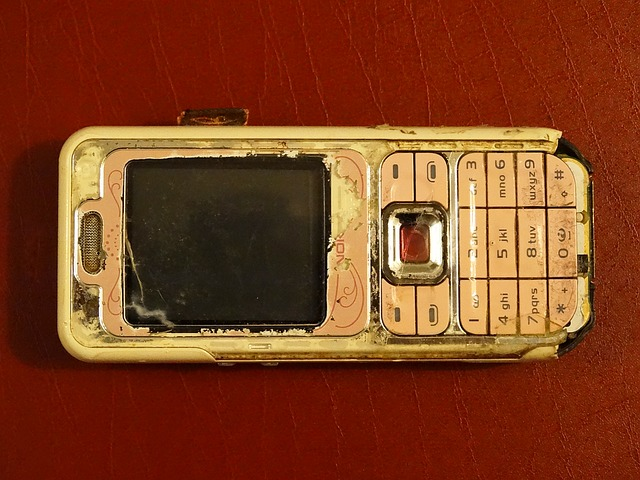 Cell Phone, Nokia, Old, Screwed Up