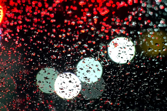 Light, Non, Rainwater, Reflect, Flow, Water, Dark