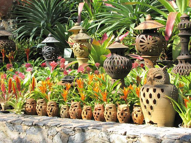 Ceramics, Nong Nooch Garden, Tropical Garden