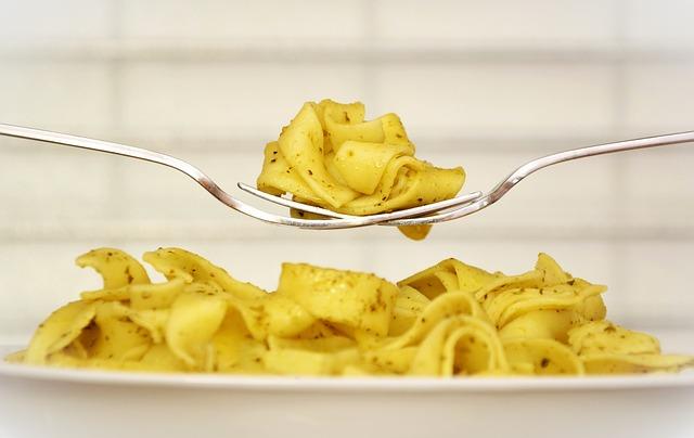 Pasta, Noodles, Plate, Eat, Lunch, Noodle Dish, Italian