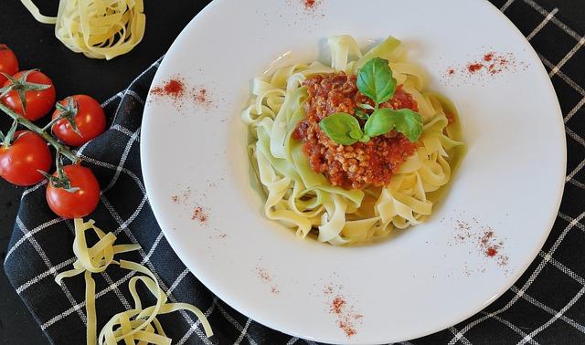 Noodles, Pasta, Tagliatelle, Minced Meat, Minced ' Meat