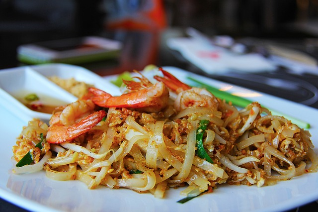 Pad Thai, Hungry, Noodles, Yummy, Delicious, Prawn