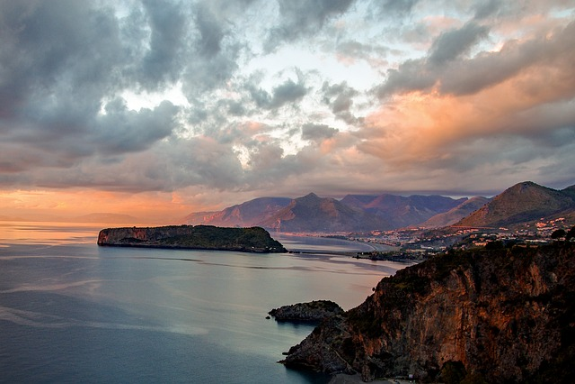 Praia A Mare, Sunset, Noon, Calabria, Italy