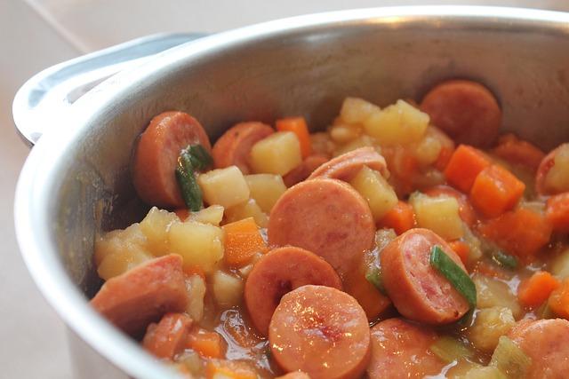 Sausage, Stew, Noon Tips