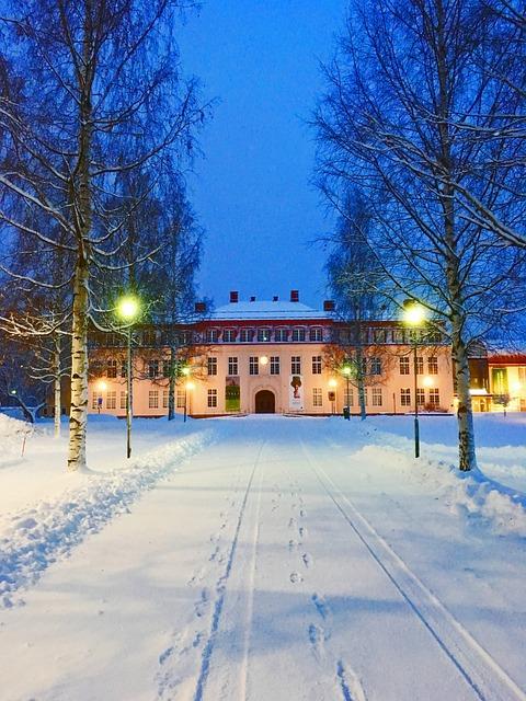 Nordanå, Skellefteå, Winter, Sweden