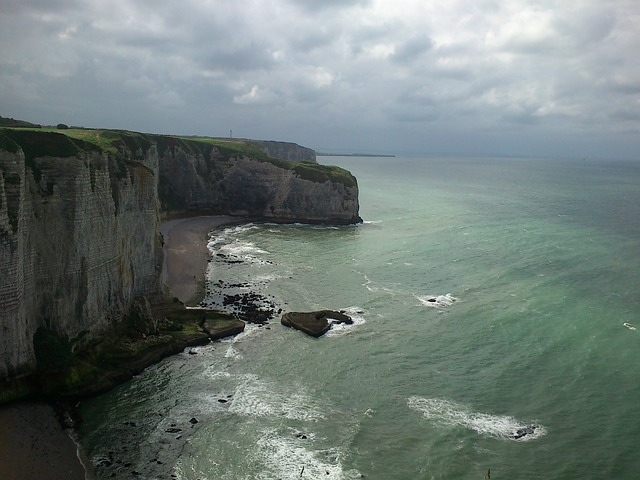 étretat, Normandie Region, France, Cliffs