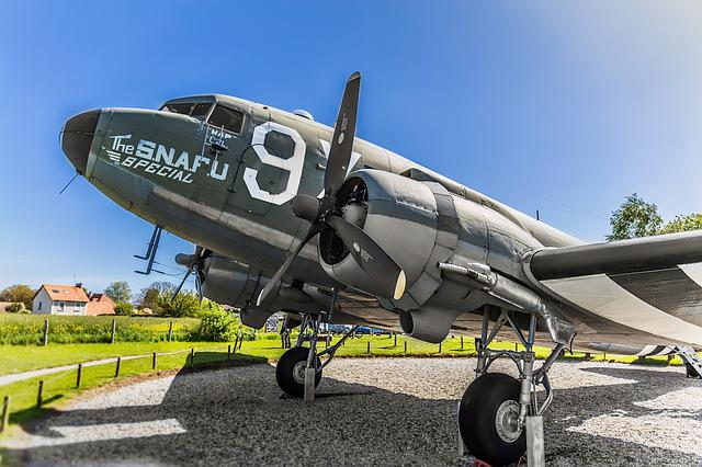D-day, Plane, C-47, Normandy, Us Army, Snafu, Cargo