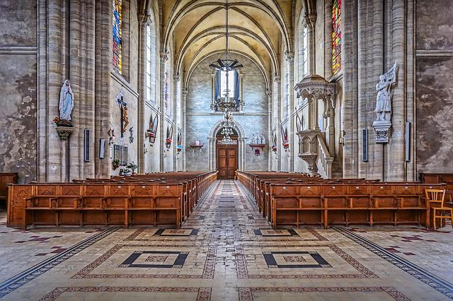 Church, Normandy, Architecture, Normandie, Historic