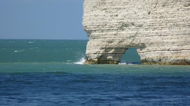 Etretat, Normandy, Cliff, Cliffs, Felsentor, Sea