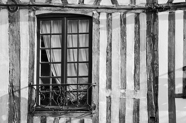 Window, Facade, House, Studs, Normandy, Heritage