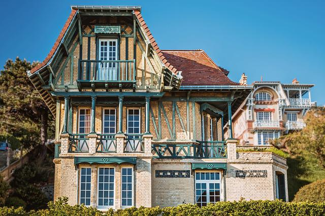 Villa, Le Havre, Normandy, House, Architecture, City