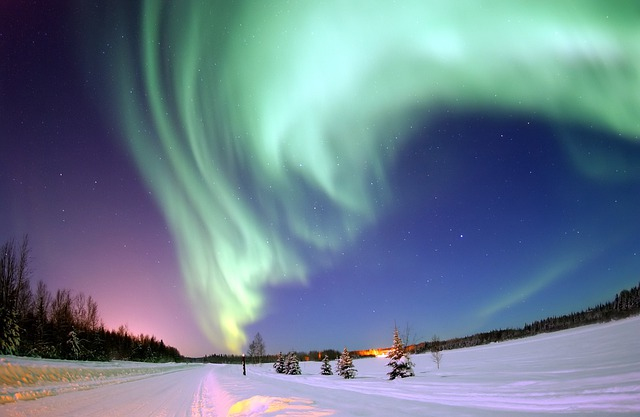 Aurora Borealis, Aurora, Northern Lights, North Pole