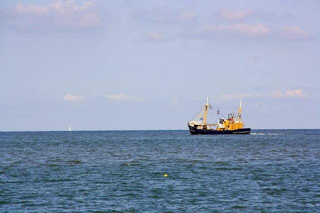 Fishing Vessel, Sea, North Sea