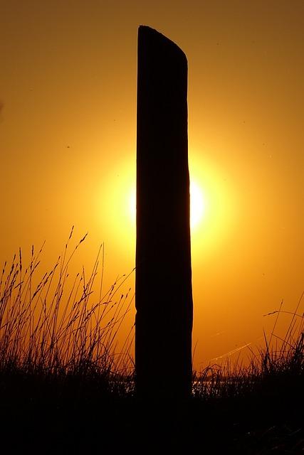 North Sea, Camping, Varel, Sunset, Sun, Setting Sun