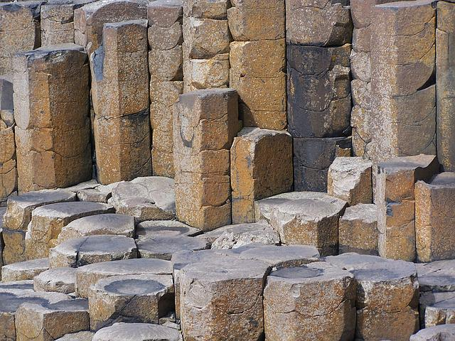 Giant's Causeway, Northern Ireland, Ireland, Basalt