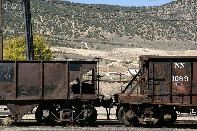Ely, Nevada, Wagons, Station, Northern, Museum, Desert