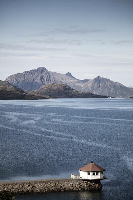 Fjordcamp, Norway, Lofoten, Arctic Circle, Fishing