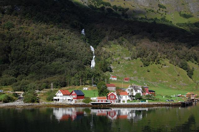 Norway, Fjord, Waterfall, Scandinavia, Landscape, Water