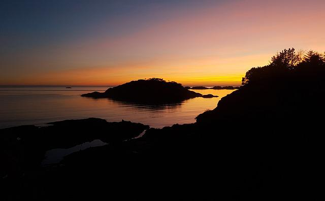 Sunset, Egersund, Norway, Landscape