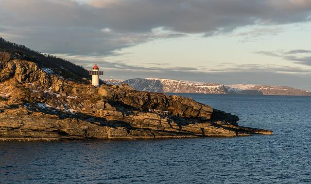 Norway, Lighthouse, Sea, Nature, Landscape, Travel, Sky