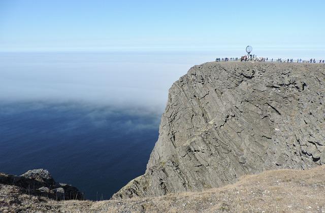 Norway, North Degrees, North Cape, Sea