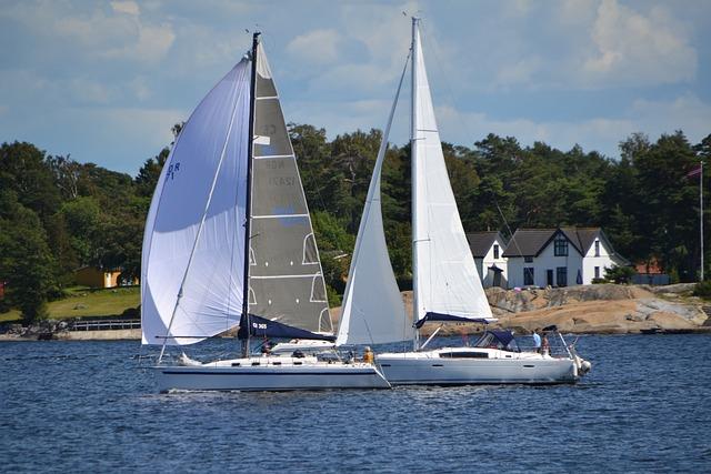 Sail Boat, Sea, Norway