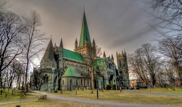 Nidaros Cathedral, Trondheim, Norway, Architecture