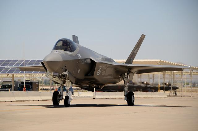 Norwegian Air Force, Luke Air Force Base, F-35a