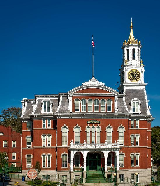 Norwich, Connecticut, City Hall, Building, Landmark