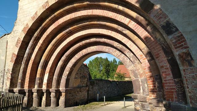 Monastery Altzella, Nossen, Gate, Altzella, Monastery