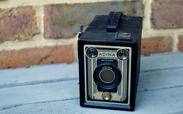 Camera, Old Camera, Adina, Box Camera, Nostalgia, Old