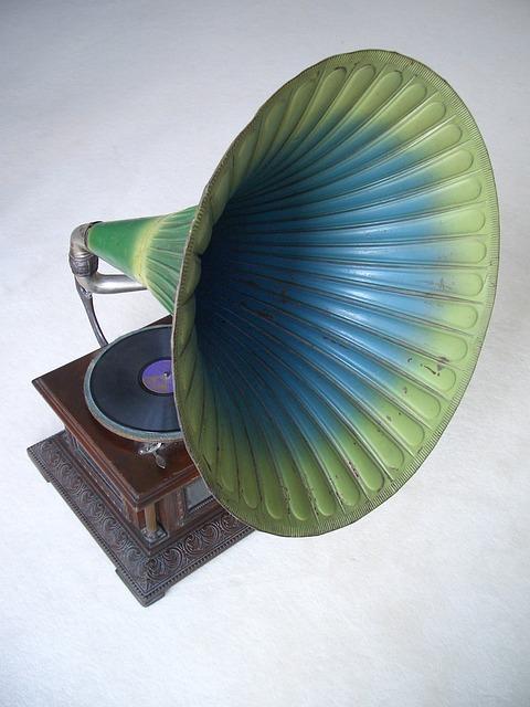 Gramophone, Record, Music, Antique, Nostalgia