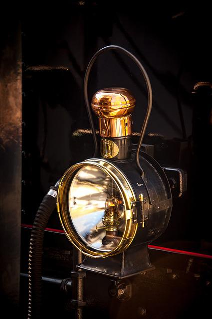 Lantern, Steam Locomotive, Nostalgia