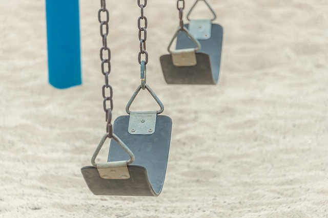 Swing, Empty Swings, Playground, Outdoor, Nostalgia