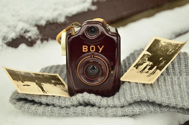 Camera, Old, Antique, Photograph, Photo, Nostalgia