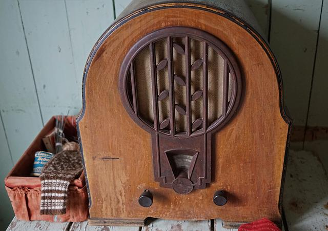 Old Radio, Retro, Nostalgia, Tube Radio, Antique