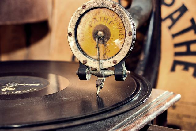 Gramophone, Turntable, Music, Vinyl, Vintage, Nostalgia