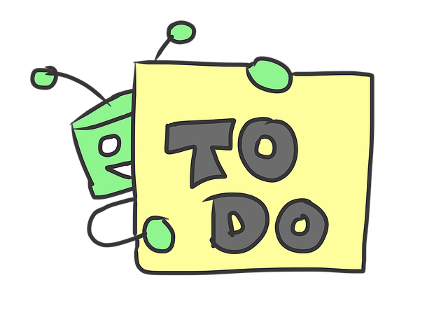 Robot, Postit, Note, To Do, Sticky Notes, Yellow, Green