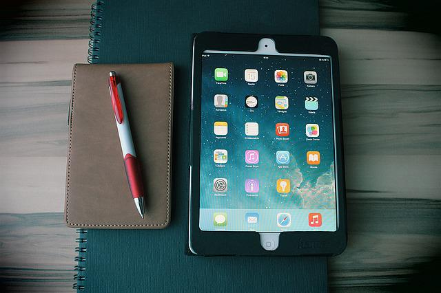 Ipad, Tablet, Notebook, Office, Home Office, Computer