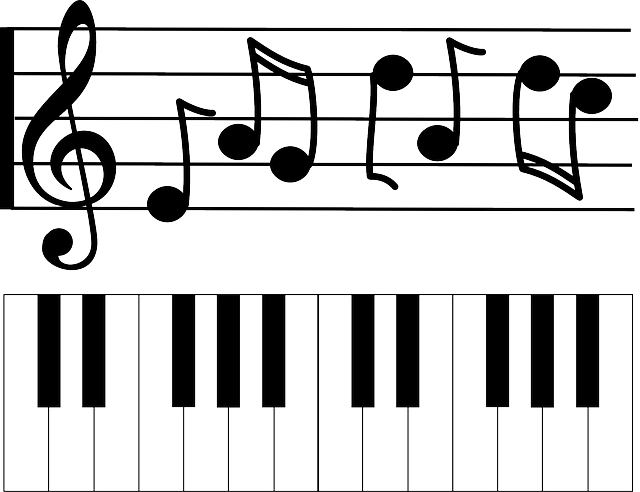 Free Photo Notes Piano Instrument Music Clef Keyboard Treble Max Pixel