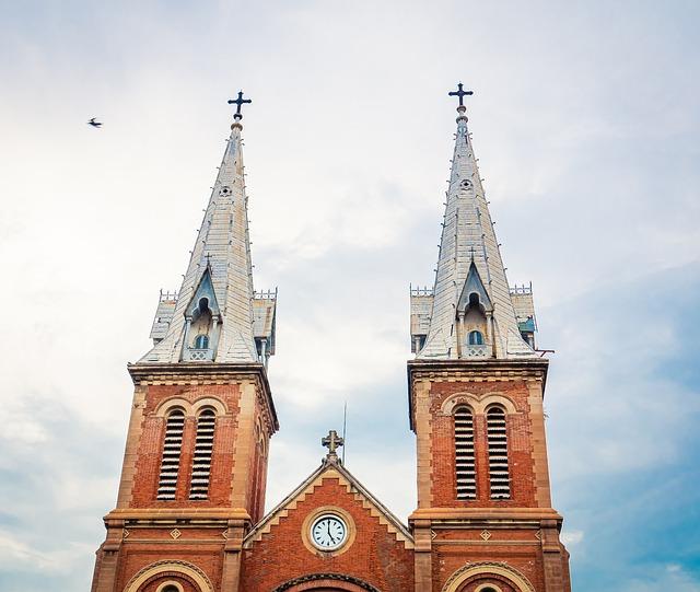 Notre Dame Cathedral Saigon, Saigon, Vietnam, Church