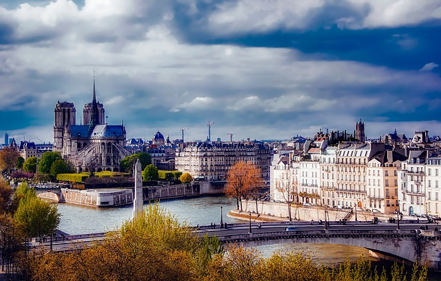 Paris, France, Notre Dame, Architecture, Landmark