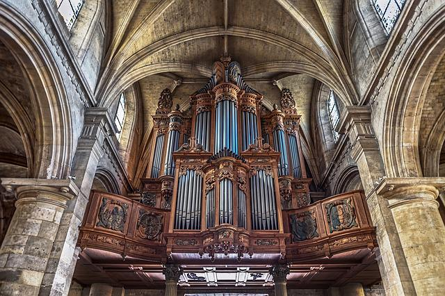Pipe Organ, Church, Notre Dame, Le Havre, Organ