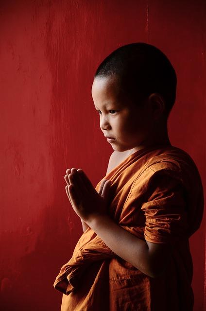 Novice, Buddhism, Monks, Religion, Faith, Asia