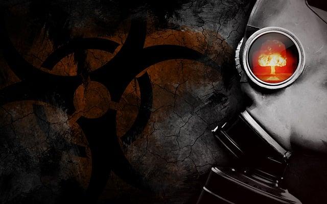 Gas Mask, Apocalypse, Nuclear, Atom, Radioactive