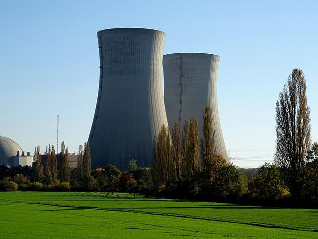 Nuclear Power Plant, Nuclear Power, Atomic Energy