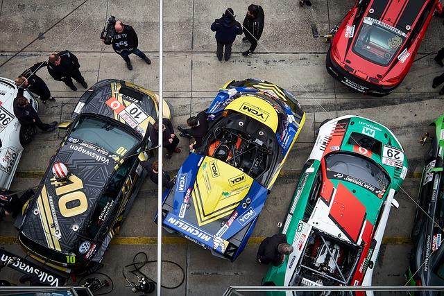 Race, Motorsport, Auto, Pit Lane, Nürburgring, Sport